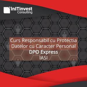 Curs Responsabil cu Protectia Datelor cu Caracter Personal - Iasi